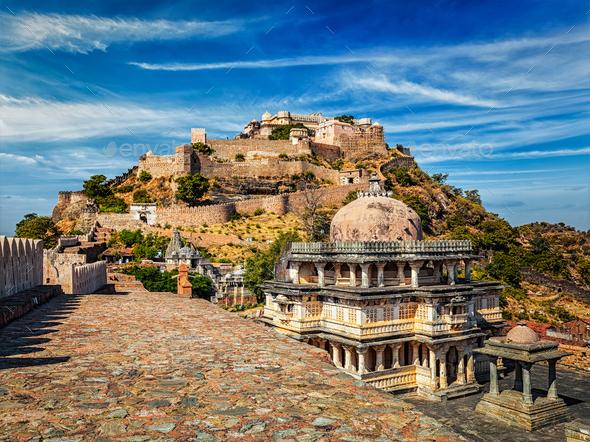 Kumbhalgarh fort, India - Stock Photo - Images