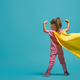 child playing superhero - PhotoDune Item for Sale
