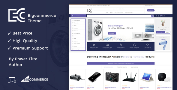 eCode - Multipurpose Stencil BigCommerce Theme