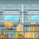 Manufacturing Modern Warehouse Technology Process - GraphicRiver Item for Sale