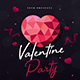Valentine Event Flyer - GraphicRiver Item for Sale