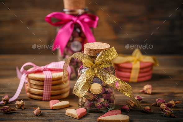 Valentine's day and mother's day concept - Stock Photo - Images