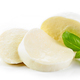 Mozzarella cheese on white background - PhotoDune Item for Sale