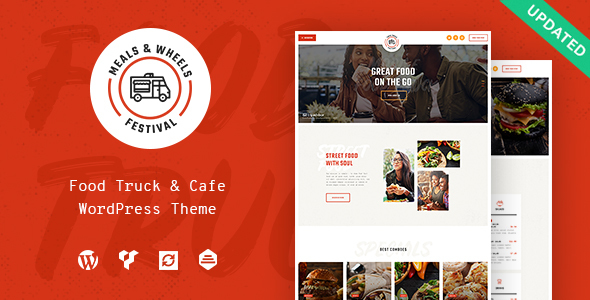 Meals & Wheels | Street Food Festival & Fast Food Delivery WordPress Theme