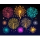 Fireworks Celebration of Holiday - GraphicRiver Item for Sale