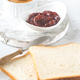 Toast with peanut butter and strawberry jam - PhotoDune Item for Sale