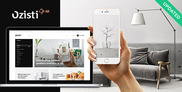 Ozisti | A Multi-Concept WooCommerce WordPress Theme Augmented Reality Store Ready - WooCommerce eCommerce