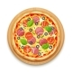 Fresh Pizza with Tomato - GraphicRiver Item for Sale