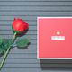 Valentines Day with red box and red roses-4 - PhotoDune Item for Sale