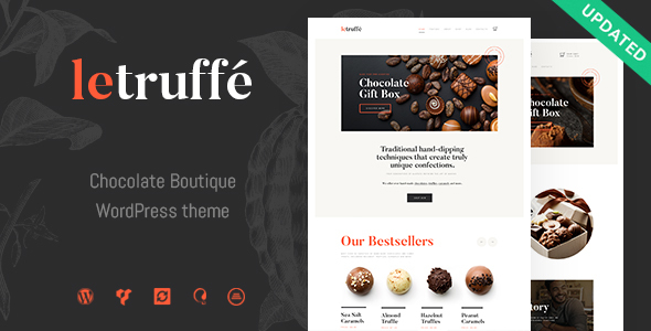 Le Truffe | Chocolate Sweets & Candy Store WordPress Theme