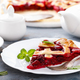 American cherry pie with fresh berries - PhotoDune Item for Sale