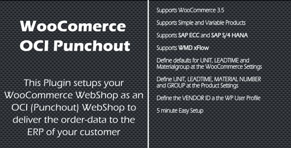 WooCommerce SAP OCI Punchout - CodeCanyon Item for Sale