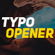 FCPX Stomp Typo Opener - VideoHive Item for Sale
