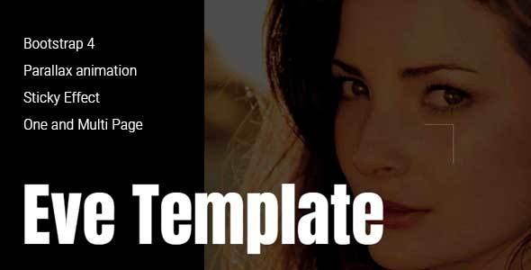 Eve - Creative One & Multipage Template
