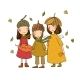 Three Small Forest Fairies - GraphicRiver Item for Sale