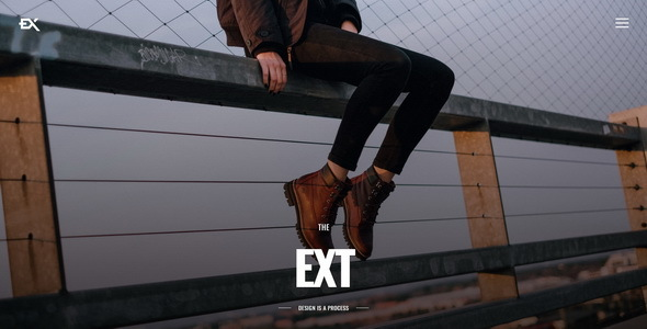 The Ext - Photography Portfolio Template
