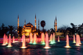 Fountain on Sultanahmet area in evening time - PhotoDune Item for Sale