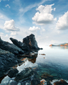 Amazing Mediterranean seascape in Turkey - PhotoDune Item for Sale