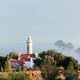 Picturesque scene with lighthouse on Gelidonya cape - PhotoDune Item for Sale