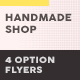 Handmade Shop Flyers 2 – 4 Options - GraphicRiver Item for Sale