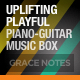 Uplifting Playful Guitar Piano Music Box