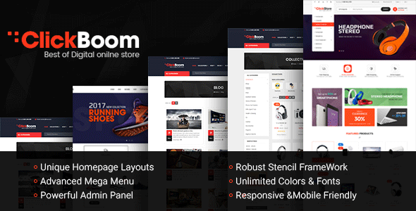 ClickBoom - Responsive Multipurpose StenCil BigCommerce Theme with Advanced Theme Option - BigCommerce eCommerce