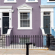 Entrances to some typical english row houses - PhotoDune Item for Sale