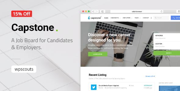 Capstone: Job Board WordPress Theme