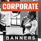 Corporate Web Banner Set - GraphicRiver Item for Sale