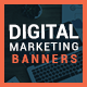 Digital Marketing Web Banner Set - GraphicRiver Item for Sale