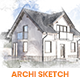 Archi Sketch Photoshop Action - GraphicRiver Item for Sale