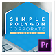 Simple Polygon Corporate Slideshow - Premiere Pro - VideoHive Item for Sale