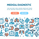 Medical Diagnostics Flyer Banner Posters Card - GraphicRiver Item for Sale