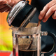 Barista Making French Press Coffee - PhotoDune Item for Sale