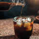 Pouring Cold Brew Coffee - PhotoDune Item for Sale