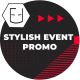 Stylish Event Promo - VideoHive Item for Sale