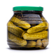 Pickled cucumbers in a glass jar - PhotoDune Item for Sale