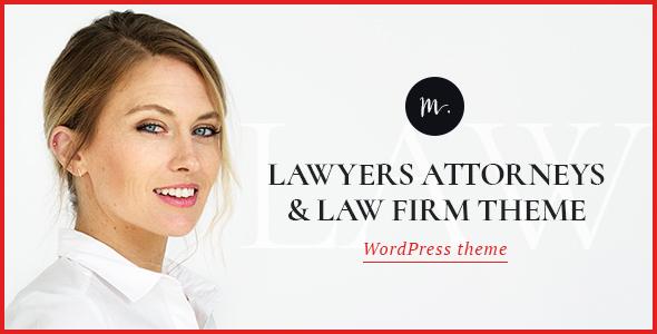 M.Williamson | Lawyer & Legal Adviser WordPress Theme