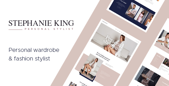 S.King | Personal Stylist and Fashion Blogger WordPress Theme Free Download