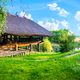 Wooden house in summer - PhotoDune Item for Sale