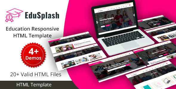 EduSplash - Education Responsive HTML Template