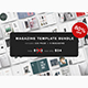 Magazine Template Bundle - 80% OFF - GraphicRiver Item for Sale