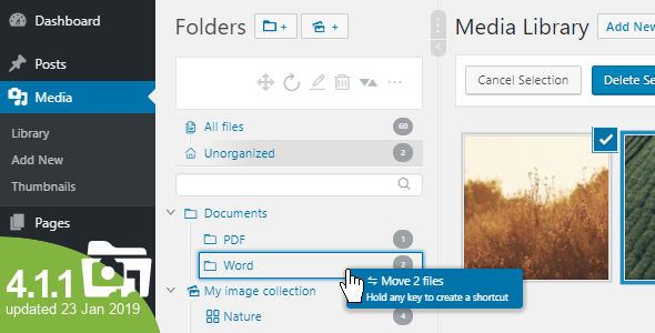 WordPress Real Media Library - Media Categories / Folders File Manager - CodeCanyon Item for Sale