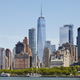 Manhattan skyline on a sunny day, USA. - PhotoDune Item for Sale