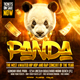 Panda Hip Hop Flyer - GraphicRiver Item for Sale