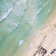 Aerial straight down view of beach on Cozumel, Mexico. - PhotoDune Item for Sale