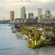 View of downtown Tampa, Florida from the harbor. - PhotoDune Item for Sale