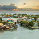 Oak Ridge area of Roatan Island, Honduras at sunrise - PhotoDune Item for Sale