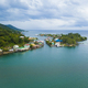 Aerial view of Oak, Ridge, the Venice of the Caribbean, in Roata - PhotoDune Item for Sale