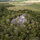 Aerial view over Mayan ruins of Dzibanche and Kinichna in Mexico - PhotoDune Item for Sale